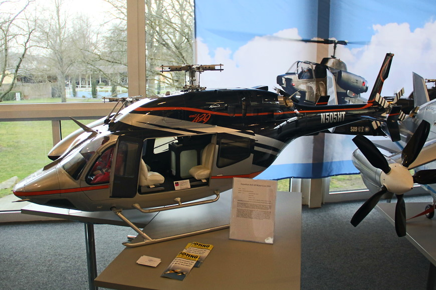 Rotor live 2016: Bell 429 (Alterbaum Premium Helicopter)