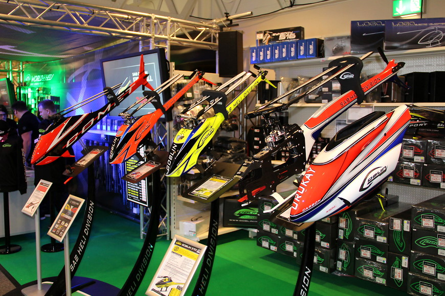 ROTOR live 2018 Iffezheim: Goblin 570 Sport & Co bei World of Heli
